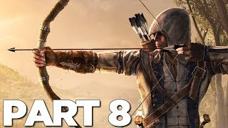 ASSASSIN'S CREED 3 REMASTERED Walkthrough Gameplay Part 8 - DOWN RIVER (AC3)