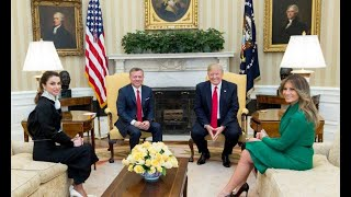 King and Queen of Jordan to make another trip to the White House