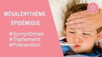 Mégalérythème épidémique : symptômes et traitement - Maladies infantiles