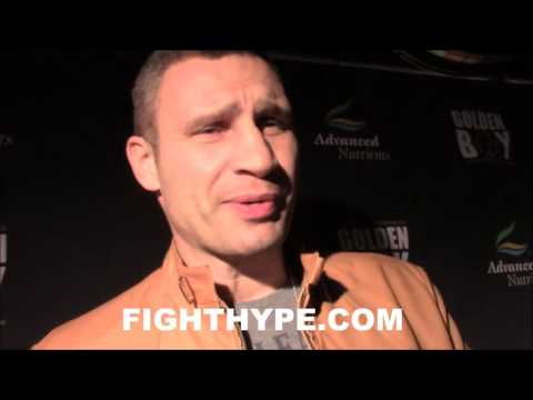 "VITALI KLITSCHKO BREAKS DOWN JOSHUA VS. KLITSCHKO; EXPLAINS WHY JOSHUA ""DOESN'T HAVE A CHANCE"""