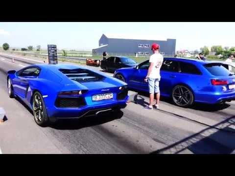 Lamborghini Aventador LP700-4 800HP CZR  vs Audi RS6 750HP CZR