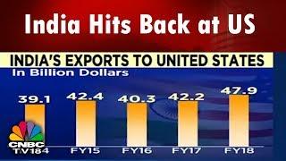India Hits Back at US, Imposes Tariffs On 29 US Goods | Trump's Trade War | CNBC TV18