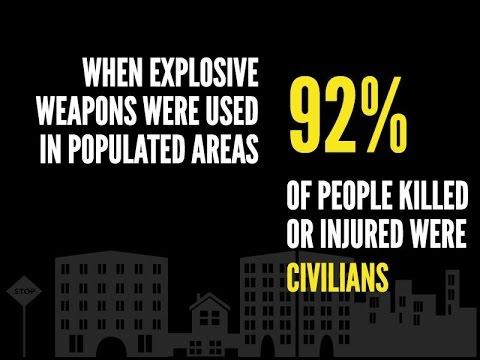 Action on Armed Violence: Global Explosive Violence Data in 2016