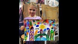 Рисование акварелью для детей спб. Поэтапные уроки живописи