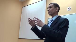 Andrey: Speech at EBA Toastmasters Club Contest, Kiev, Ukraine