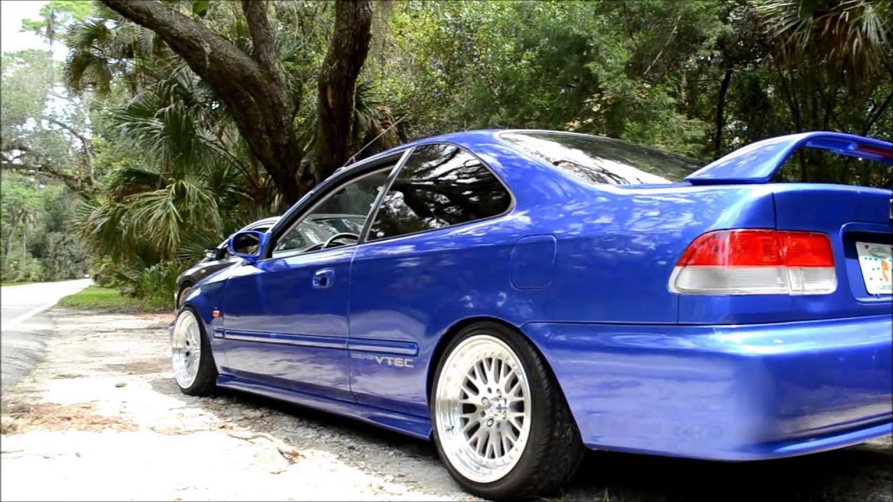 Tuner Car Wallpaper Hd Honda Civic Em1 Turbo B16a2 Youtube