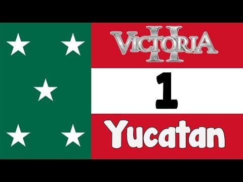 Victoria 2 HPM mod - The Mayan Republic of Yucatan episode 1