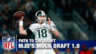 MJD's 2016 NFL Mock Draft | Path To The Draft | NFL Free HD Video