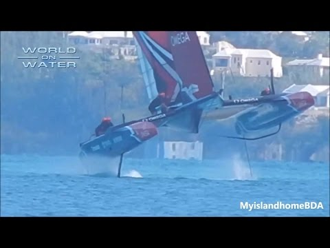 WoW 35th Americas Cup Report #8 May 11 17 CAPSIZE #2 for ORACLE, ETNZ, bikes, helmets more