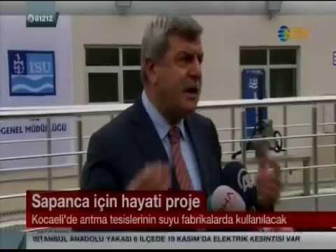 Kocaeli Büyük Şehir Belediyesi Gri Su Projesi NTV