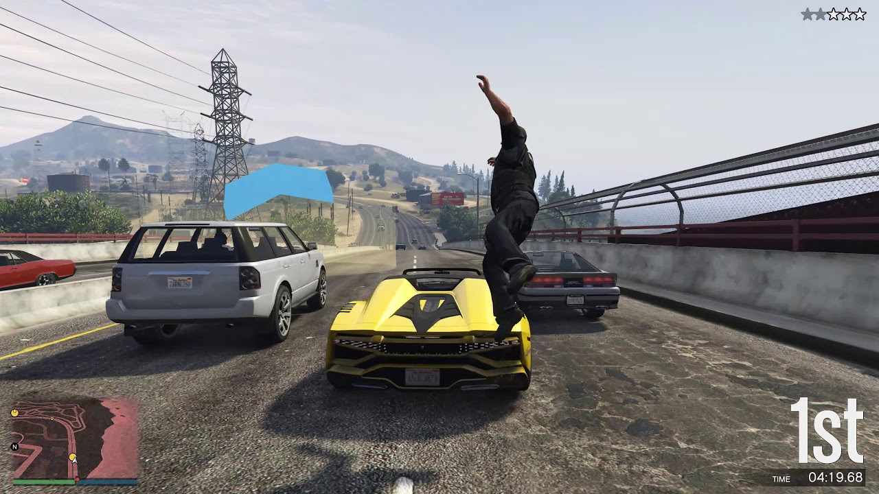 Grand Theft Auto V // 5 PLAYER MULTIPLAYER FUN! - YouTube