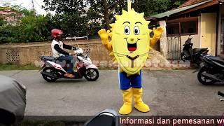 Baju Badut Durian Goyang Lucu Banget !!!