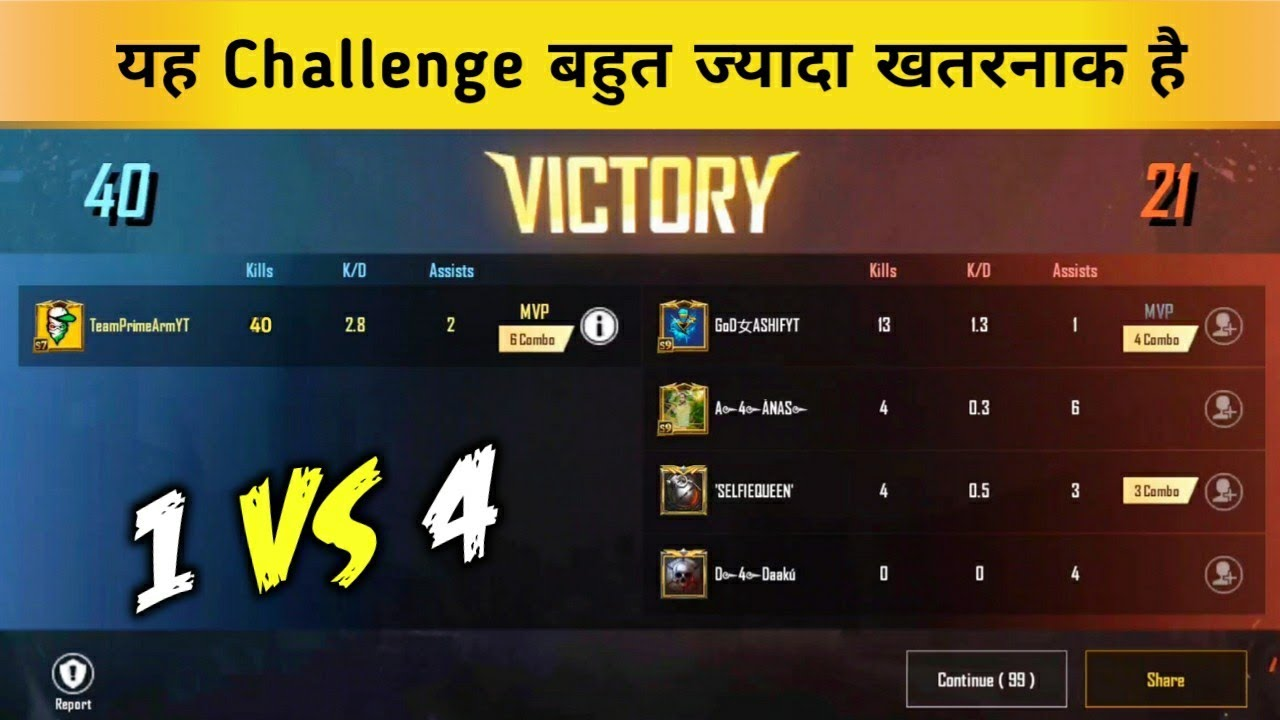 Download Solo vs Squad 40 Kills Challenge in TDM Pubg Mobile Lite - Prime Army YT