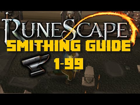 1-99 smithing guide updated runescape 2015 fast and cheap.