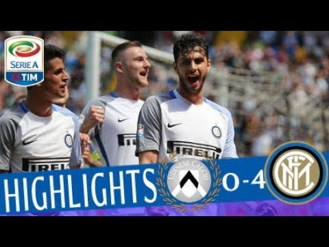 Udinese - inter 0-4 - highlights - matchday 36 - serie a tim 2017/18