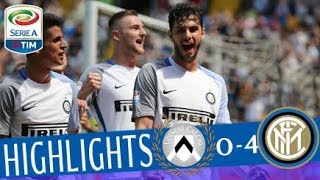 Udinese - Inter 0-4 - Highlights - Giornata 36 - Serie A TIM 2017/18 streaming