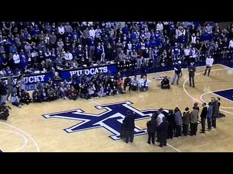 Tony Delk Jersey Retirement Ceremony