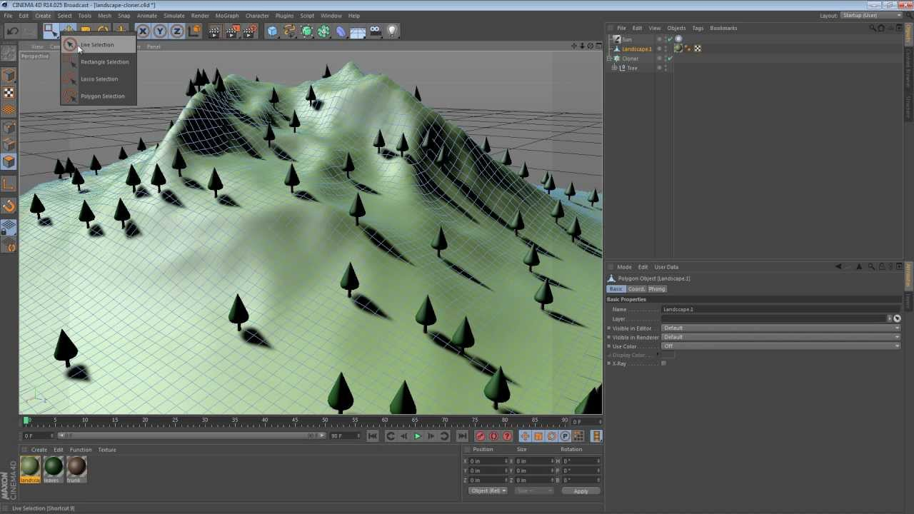 Five Minute Tip Constraining Objects To A Surface In
