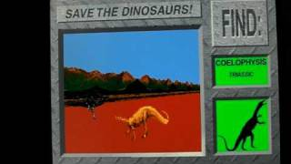3D Dinosaur Adventure Save the Dinosaurs Level :1 Find Coelophysis