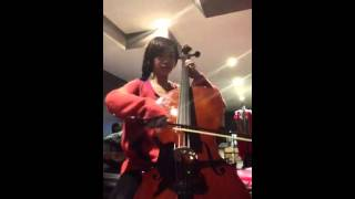 Crossing field (sword art online opening song) cello cover thumbnail