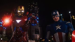 Твой ход, Северный Олень! / Железный Человек и Капитан Америка против Локи. Мстители. 2012