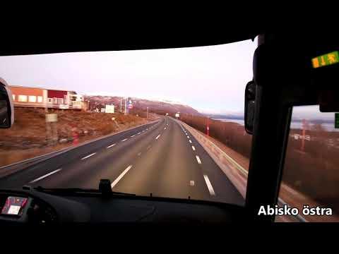 Buss Kiruna - Abisko - Rautas