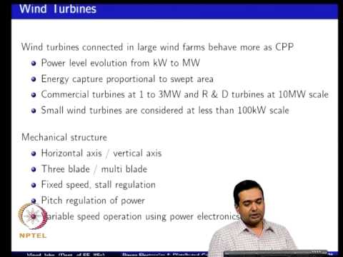 Mod-01 Lec-02 Distributed generation technologies