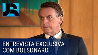 Em entrevista exclusiva para o JR, presidente Bolsonaro faz balanço do 1º ano de governo
