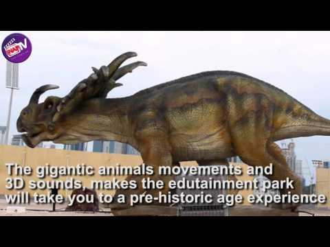 Animal park in Qatar