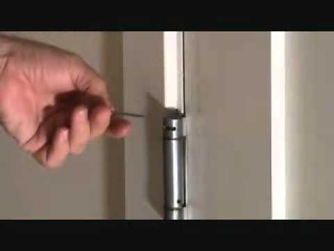 How To Adjust A Self Closing Door Hinge Youtube
