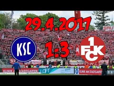 Karlsruher SC 1:3 1. FC Kaiserslautern - 29.4.2017 - DERBYSIEGER!