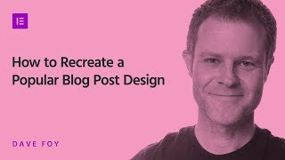 Recreate A Popular Blog Post Design Using The Single Template