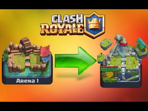 Clash Royale - FASTEST WAY TO PUSH FROM ARENA 1-8!