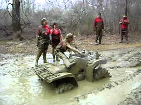 TMHP Girl Power in a nasty mud hole