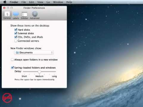 Mac Show All Files In New Windows And Finder Preferences
