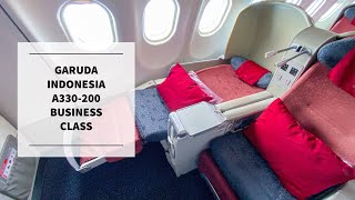 A 5-STAR EXPERIENCE | Garuda Indonesia Business Class (International) | Airbus A330-200