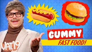 Confection Perfection | Gummy Fast Food vs Real Fast Food