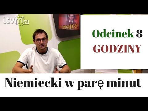 Niemiecki w parę minut 8 -  godziny - gerlic.pl