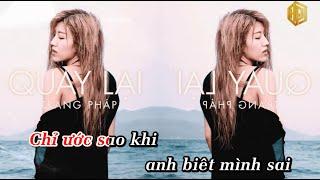 [Karaoke Beat Chuẩn] Quay Lại - Trang Pháp (Nhạc Phim Zippo Mù Tạt và Em VTV3)