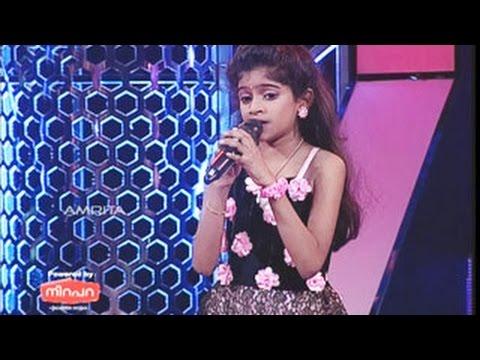 Super Star Junior- 5 |  Ann Benson singing Malar Kodi Pole Varna Thudi Pole