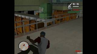 Прохождение GTA San Andreas: Миссия 70 - Чёрный проект
