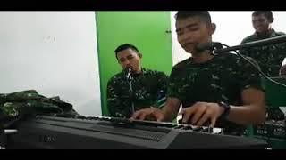 Aduh suara abang TNI bikin hati meleleh Pergilah Kasih (Cover by Stenly Timbowo -
