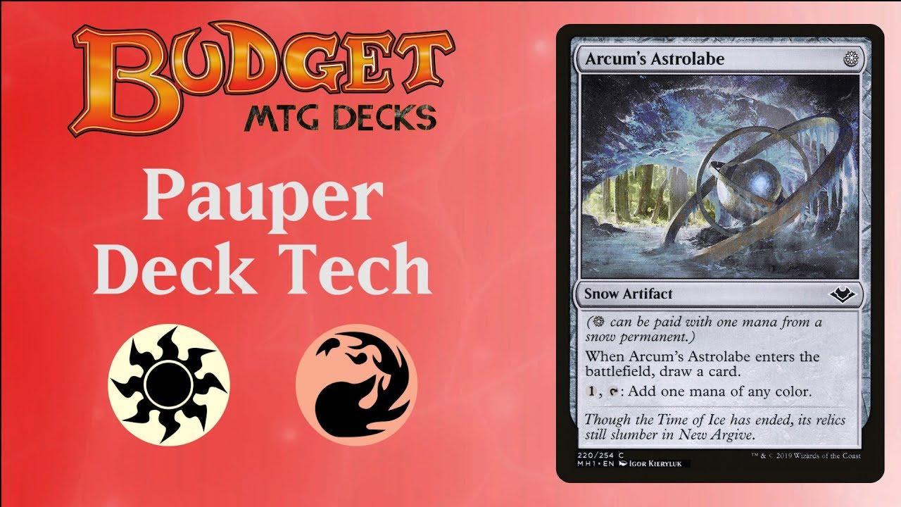 Pauper Deck Tech: Astro-Boros by Budget MTG Decks - Magic the