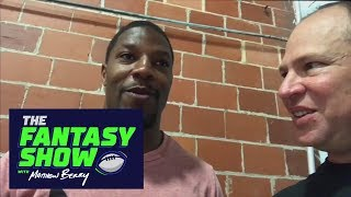 David Johnson Hoping To Get '30 Touches A Game' | The Fantasy Show With Matthew Berry | ESPN