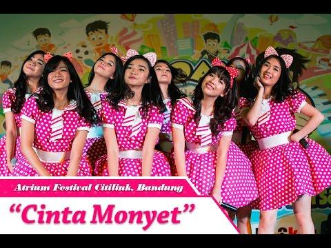 Teenebelle - Cinta Monyet [LIVE] at Atrium Festival Citylink, Bandung