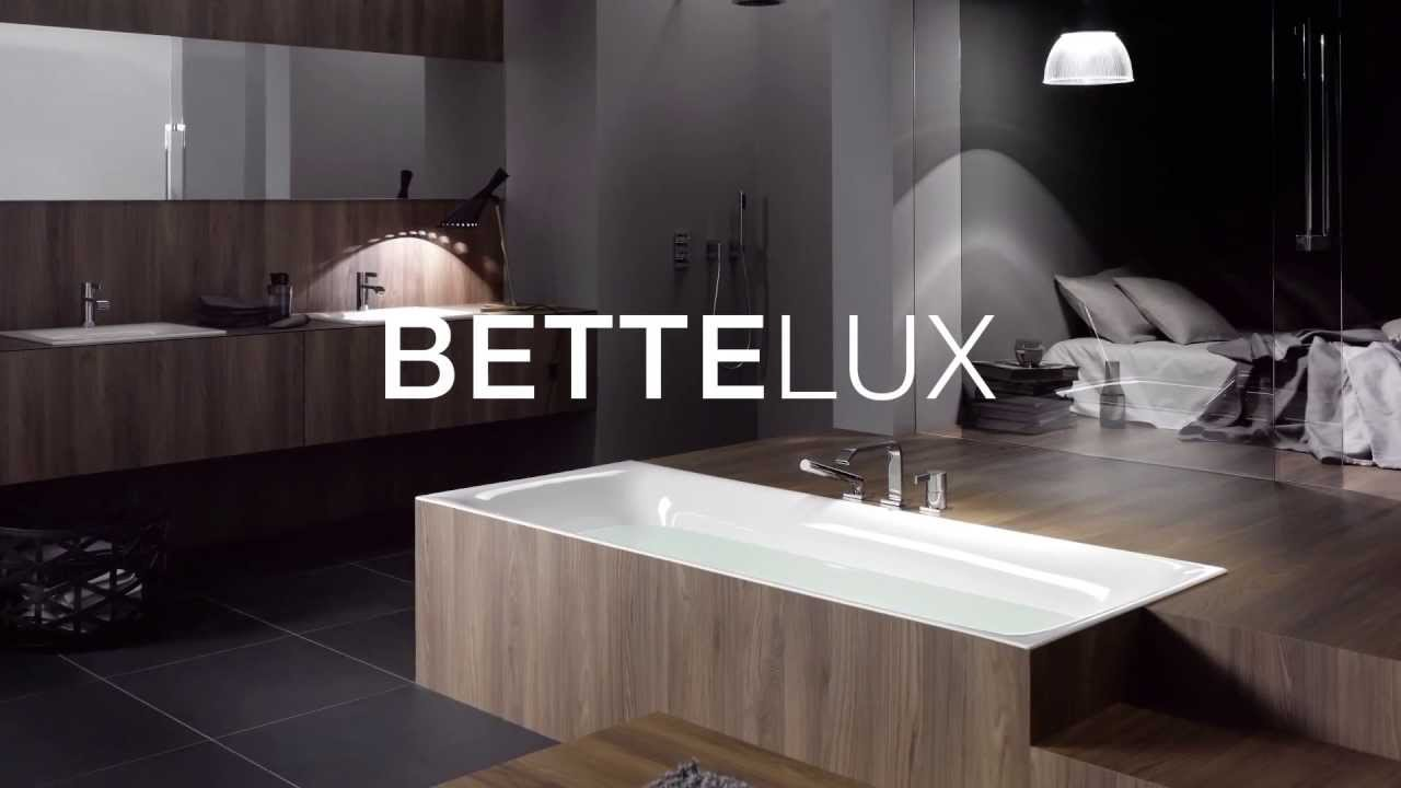 BetteLux  Badewanne und Waschtisch  YouTube