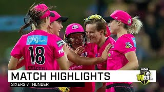 Sixers back on top after dominant display | Rebel WBBL|05