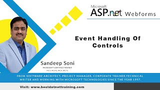 ASP.Net Tutorial for Beginners   Event Handling Of Controls in Asp.Net Web form 02