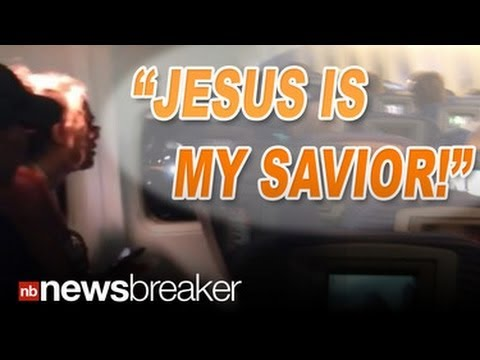 "Thumbnail: ""GOD IS MY SAVIOR"": Woman Melts Down on Plane Screaming for 20 Minutes"