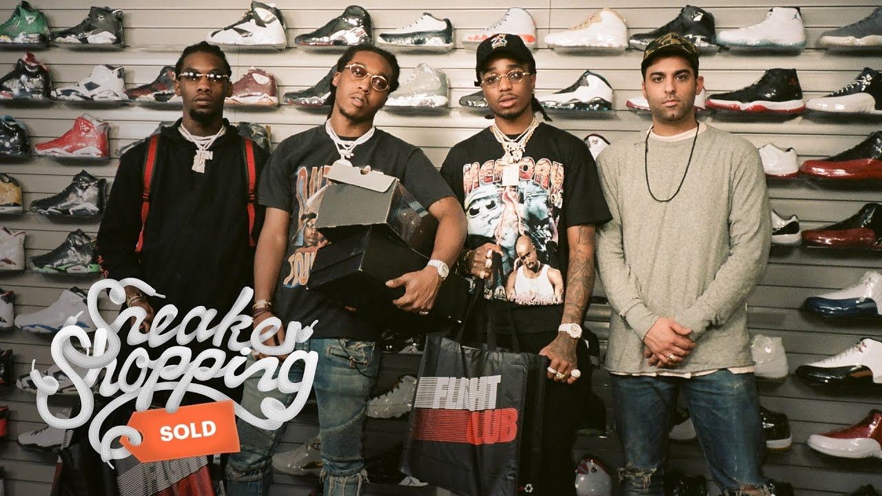 migos goes sneaker shopping with complex youtube